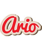 Ario chocolate logo