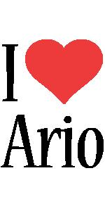 Ario i-love logo