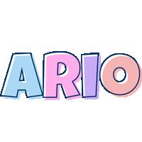 Ario pastel logo