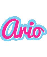 Ario popstar logo