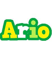 Ario soccer logo