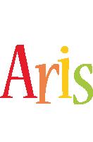 Aris birthday logo