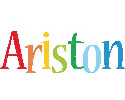 Ariston birthday logo