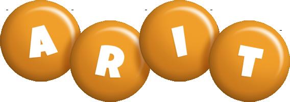 Arit candy-orange logo
