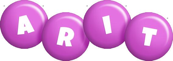 Arit candy-purple logo
