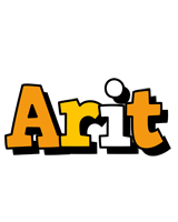 Arit cartoon logo