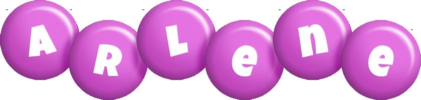 Arlene candy-purple logo