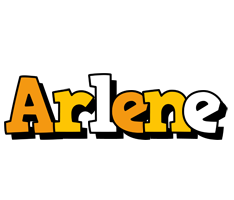 Arlene cartoon logo