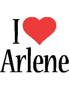 Arlene i-love logo