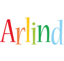 Arlind birthday logo