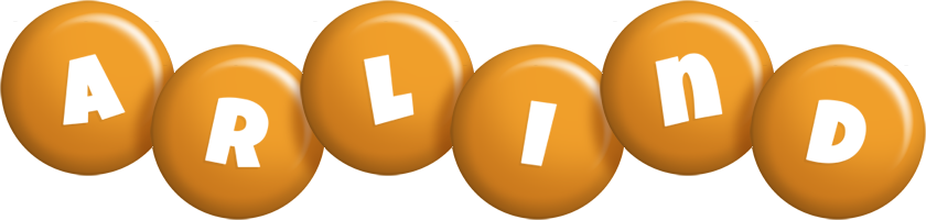 Arlind candy-orange logo