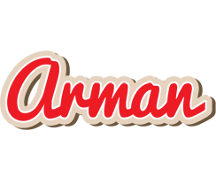 Arman chocolate logo