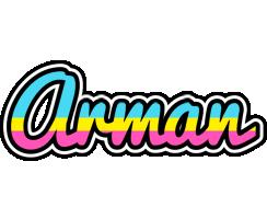 Arman circus logo