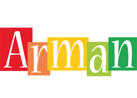 Arman colors logo