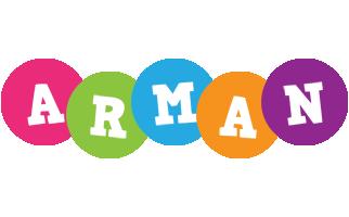 Arman friends logo