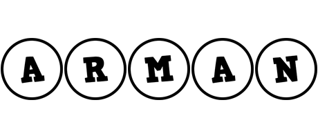 Arman handy logo
