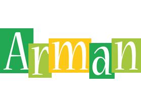 Arman lemonade logo