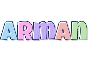 Arman pastel logo