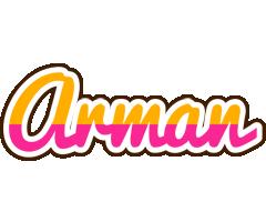 Arman smoothie logo