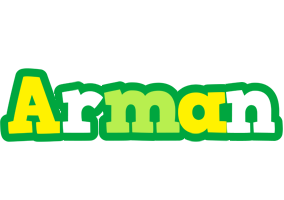 Arman soccer logo