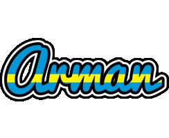 Arman sweden logo