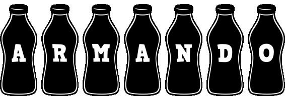 Armando bottle logo