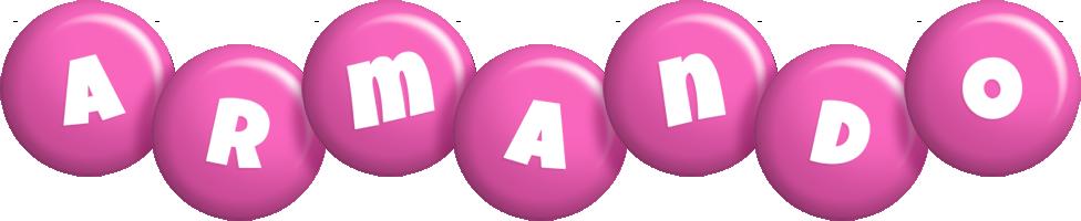 Armando candy-pink logo