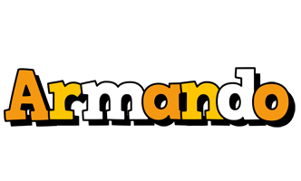Armando cartoon logo