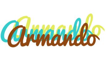 Armando cupcake logo