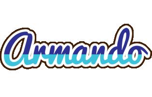 Armando raining logo