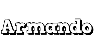 Armando snowing logo