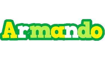 Armando soccer logo