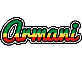 Armani african logo