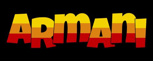 Armani jungle logo