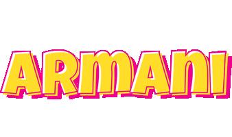 Armani kaboom logo