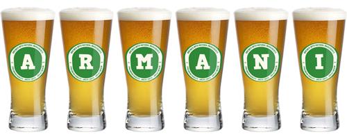 Armani lager logo
