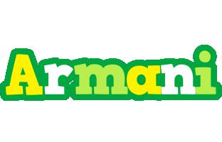 Armani soccer logo