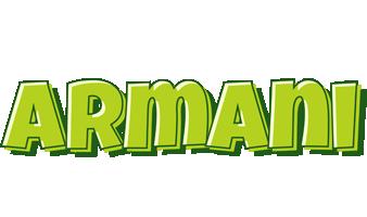 Armani summer logo
