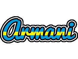 Armani sweden logo