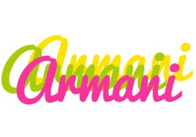 Armani sweets logo