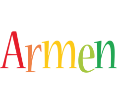 Armen birthday logo