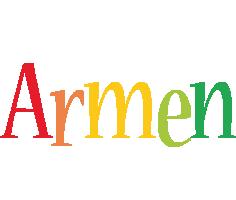 Armen birthday logo