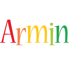 Armin birthday logo