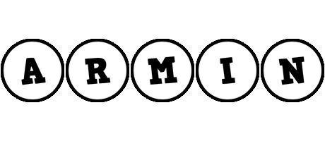 Armin handy logo