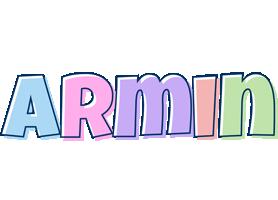 Armin pastel logo