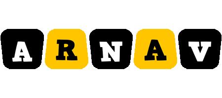 Arnav boots logo