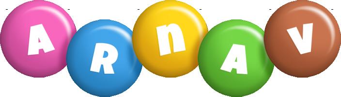 Arnav candy logo