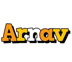 Arnav cartoon logo