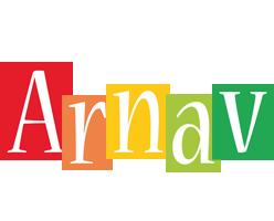 Arnav colors logo