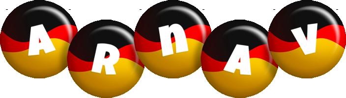 Arnav german logo